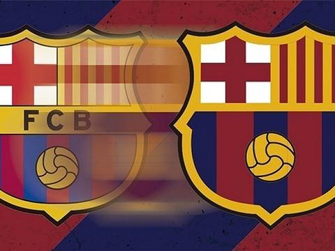 巴萨新队徽去掉队名缩写,各支球队在logo中平衡传统与现代图片