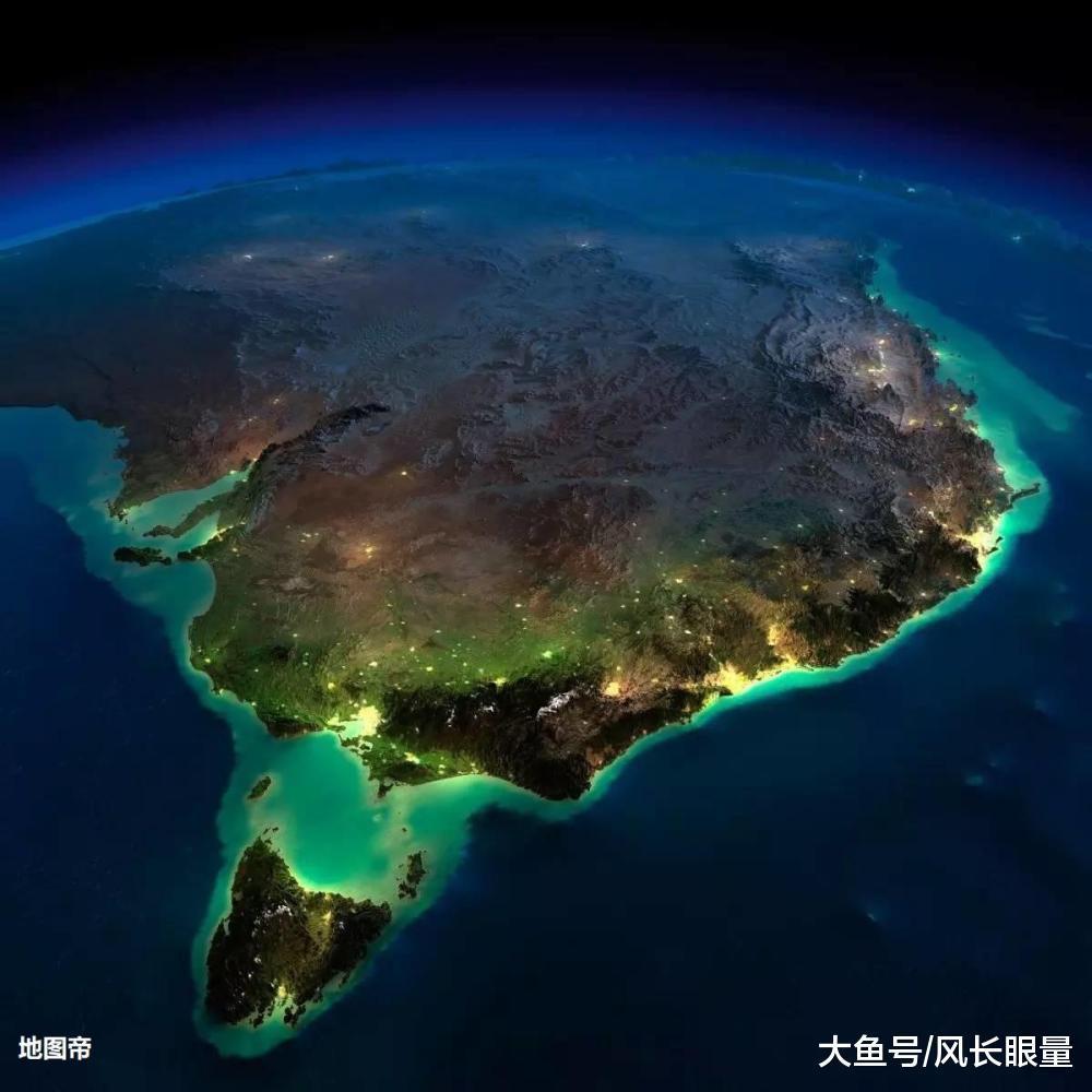 澳大利亚面积达中国八成大小, 人口为何只有两