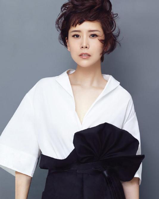 海清:短发造型,清新脱俗 海清,中国女演员图片