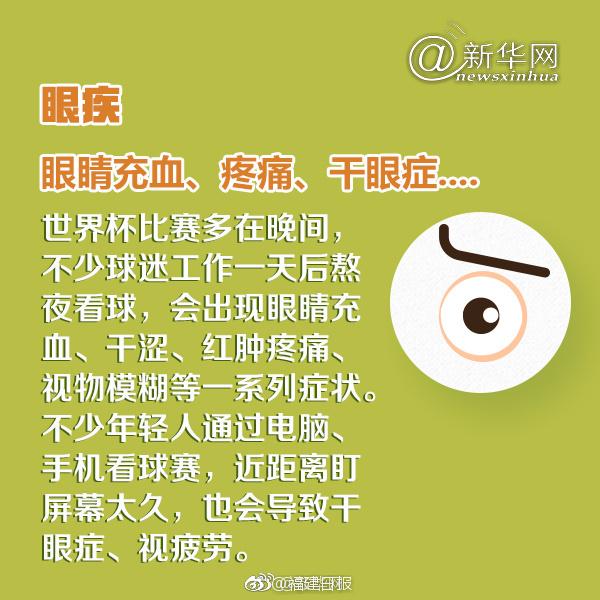 高血压眼睛充血图片_不少球迷出现了身体不适,高血压,肠胃炎,感冒,眼睛充血,失眠,脖子疼