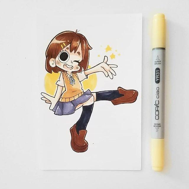 可爱的卡通人物手绘涂鸦 | ins:emibunnie