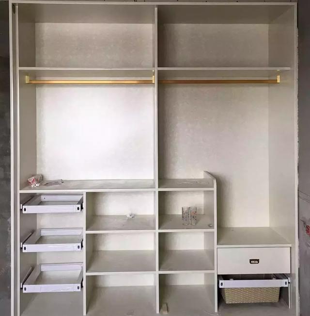 超实用衣柜内部结构图,快来收藏!(二)