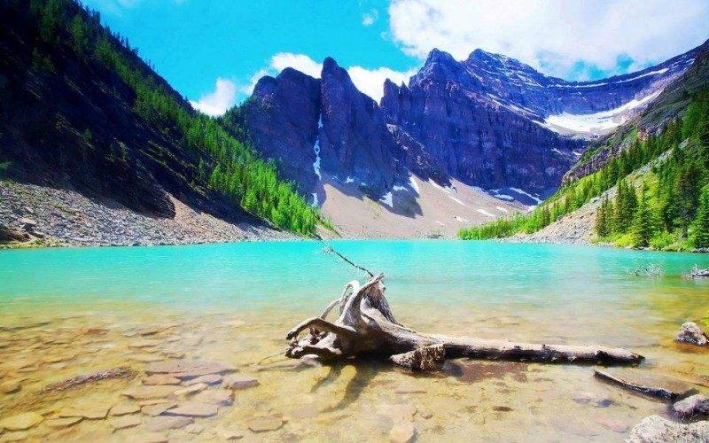 夏天的避暑胜地——去加拿大班夫旅游