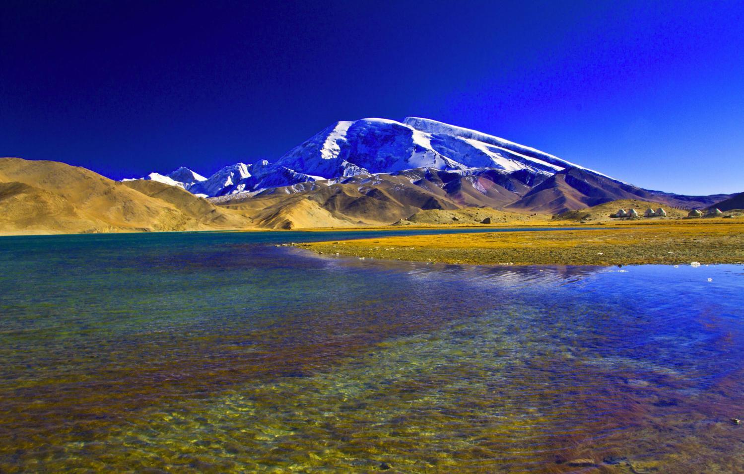 """昆仑山——中国第一神山, 古称昆仑虚,中华""""龙脉之祖""""图片"""