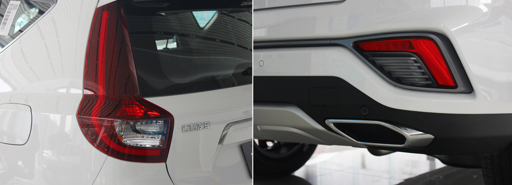 8万元超值之选 吉利新远景SUV到店实拍