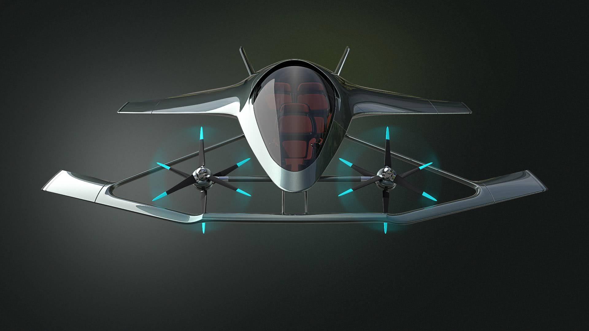 英科幻飞行器造价五百万英镑,酷似外星战机有军用前景