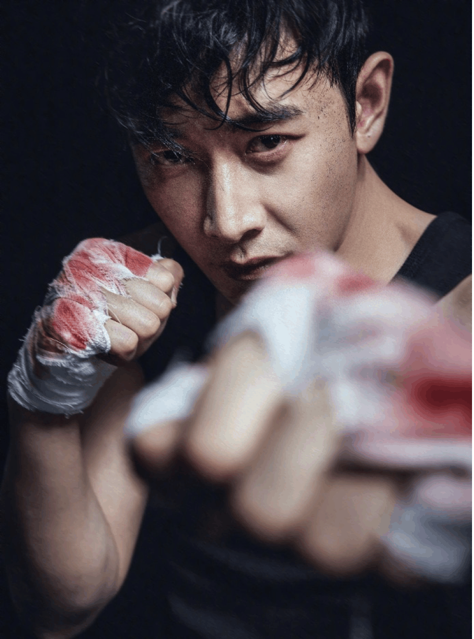 罗晋拳击照流出,他身上中国男星荷尔蒙爆表榜,他在男星中排行第几