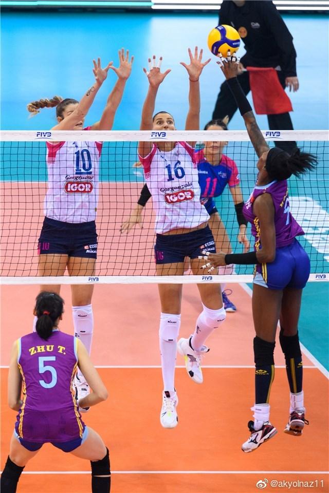 2019年女排世俱杯小组赛B组