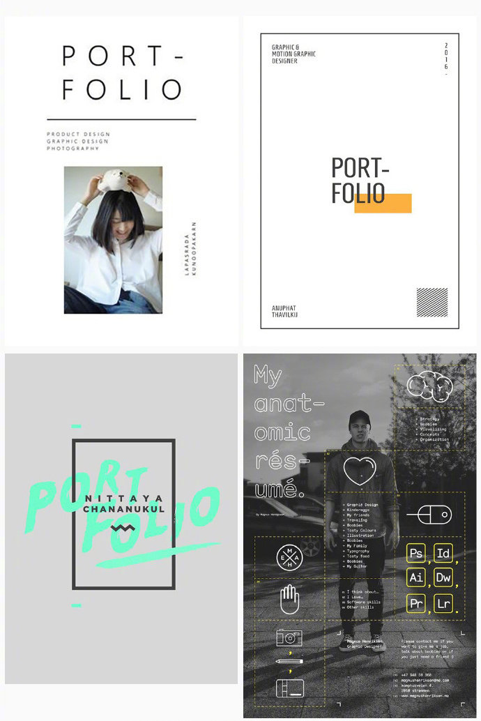 字体排版海报设计图片