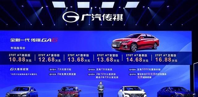 10.88万元起售,A级车价格B级车享受,全新传祺GA6你怎么看?