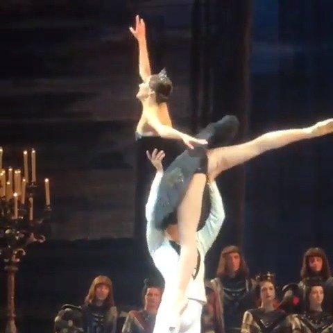 2019年9月24日 莫斯科大剧院 天鹅湖三幕大双coda片段 Yulia Stepanov