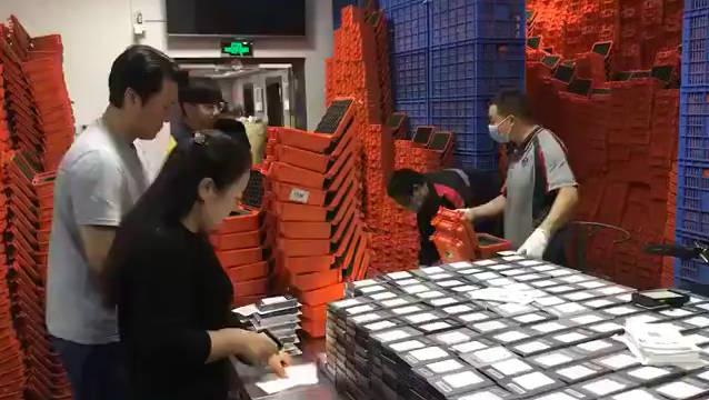 易烊千玺《少年的你》电影资源硬盘连夜拷贝打包寄送到各大城市影院