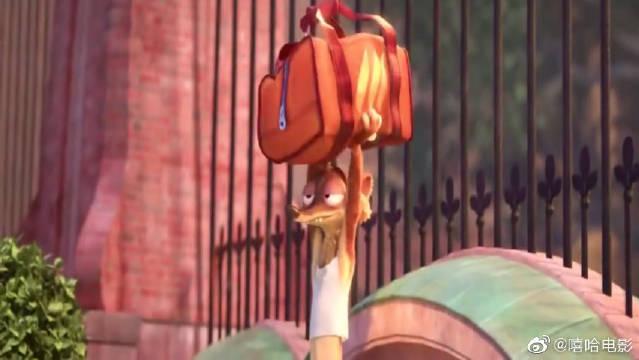 疯狂动物城:这个小偷简直无敌了,汽车被它玩转成溜冰鞋,厉害了