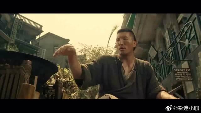 《十月围城》 巴特尔和谢霆锋为吃臭豆腐大打出手