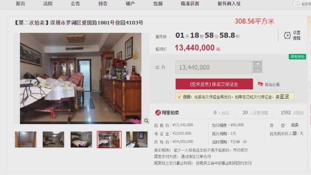 在@阴阳壶 的同仁堂法拍群,赫然看到俊园西北向的4103房子在拍卖