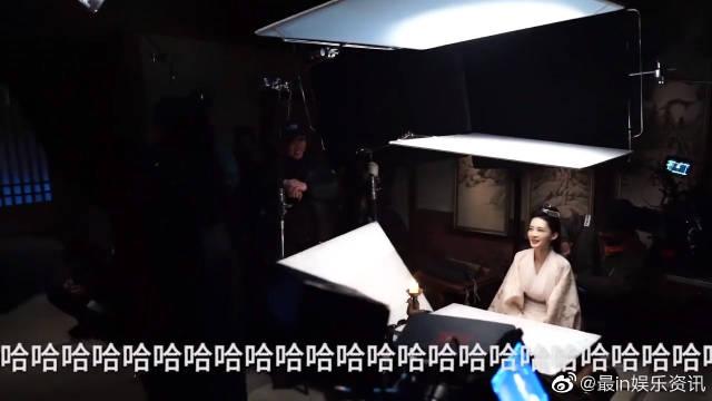 幕后花絮:张若昀李沁片场尬舞不停,说好的美美的谈恋爱的呢?