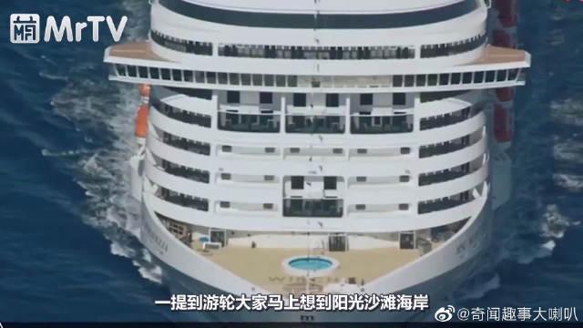 一艘游轮开到悬崖上,却成为了韩国最受欢迎的酒店!