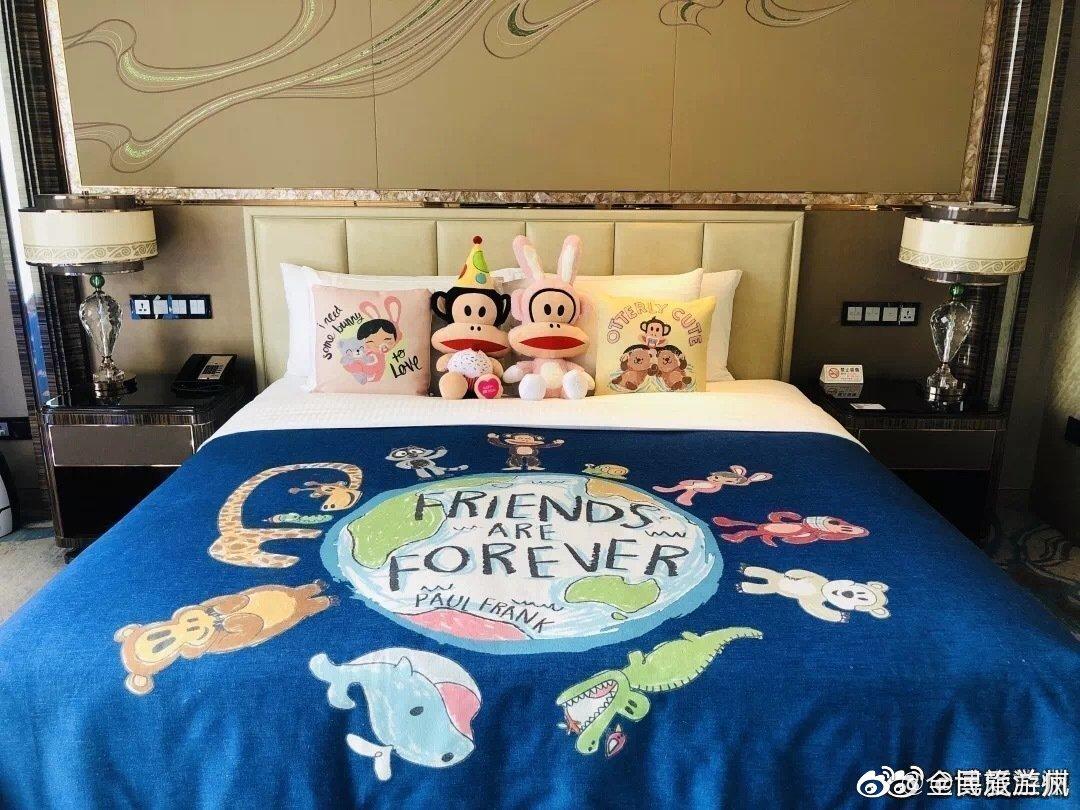 兰州富力万达文华酒店推出亲子童趣房,为全家多创造一些美好的记忆