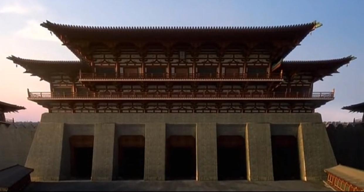 九天阊阖开宫殿,万国衣冠拜冕旒|万国|衣冠|九天