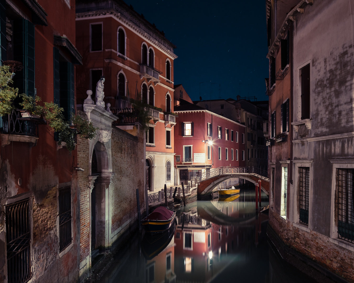 梦乡中的威尼斯,晚安 By丨Thibaud Poirier