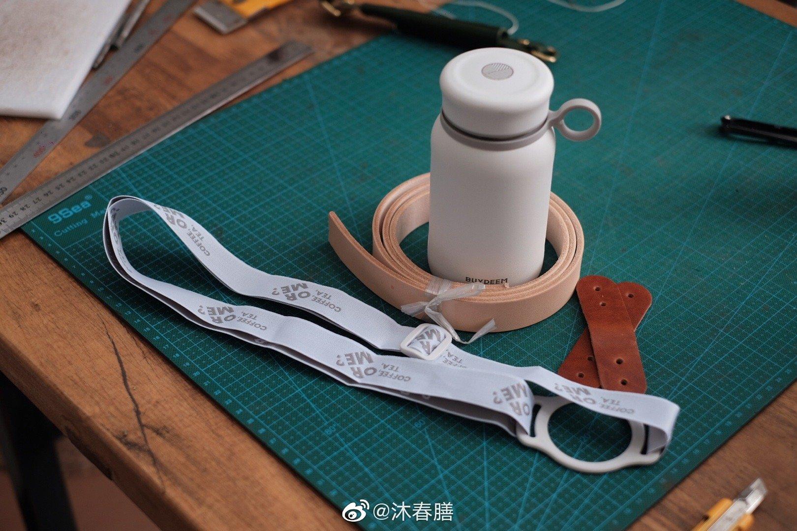 北鼎保温杯的背带加强版,虽然很无聊的一个工具,但是很好玩啊