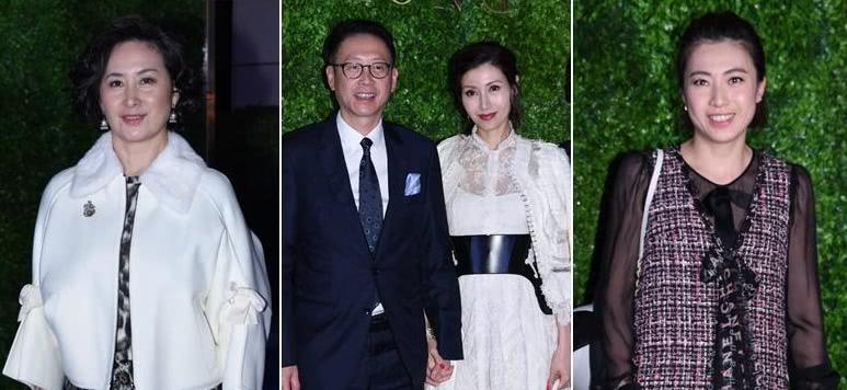 香港富豪大聚会,何超琼、甘比跟李嘉欣许晋亨同场,就差刘銮雄了