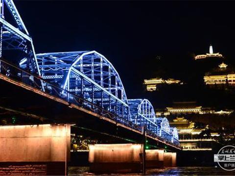 """百年铁桥,见证兰州桥梁的""""前世今生""""!"""