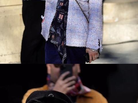 GD权志龙现身巴黎香奈儿秀场 还是那个穿着香奈儿粗花呢外套的哥哥啊