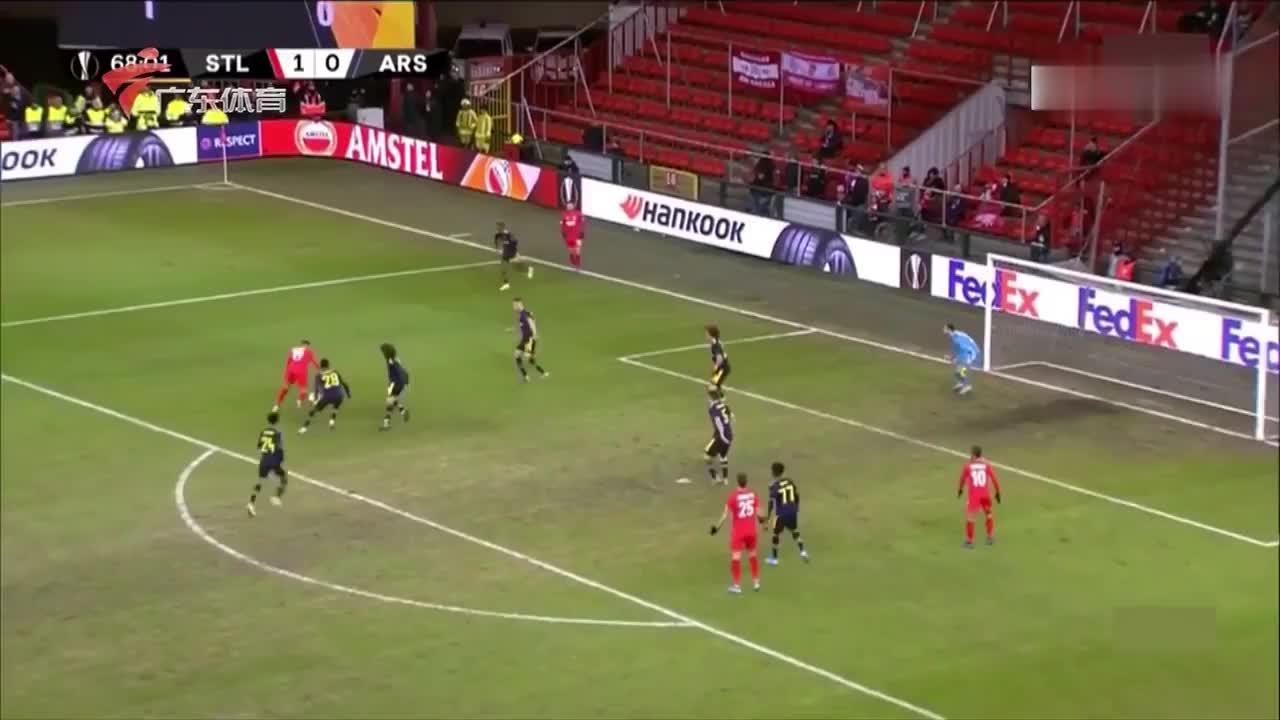阿森纳小组头名晋级欧联杯淘汰赛