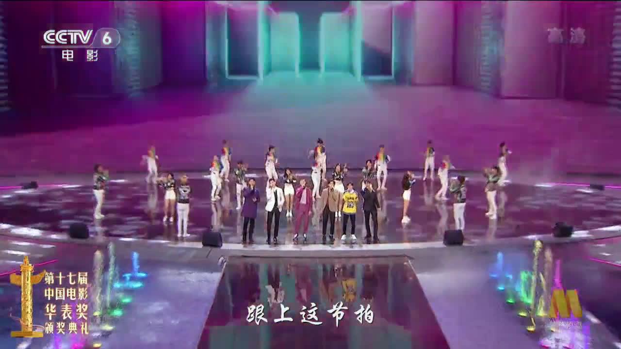 《最好的舞台》:陈伟霆、黄景瑜、李易峰、李治廷、王源、张翰