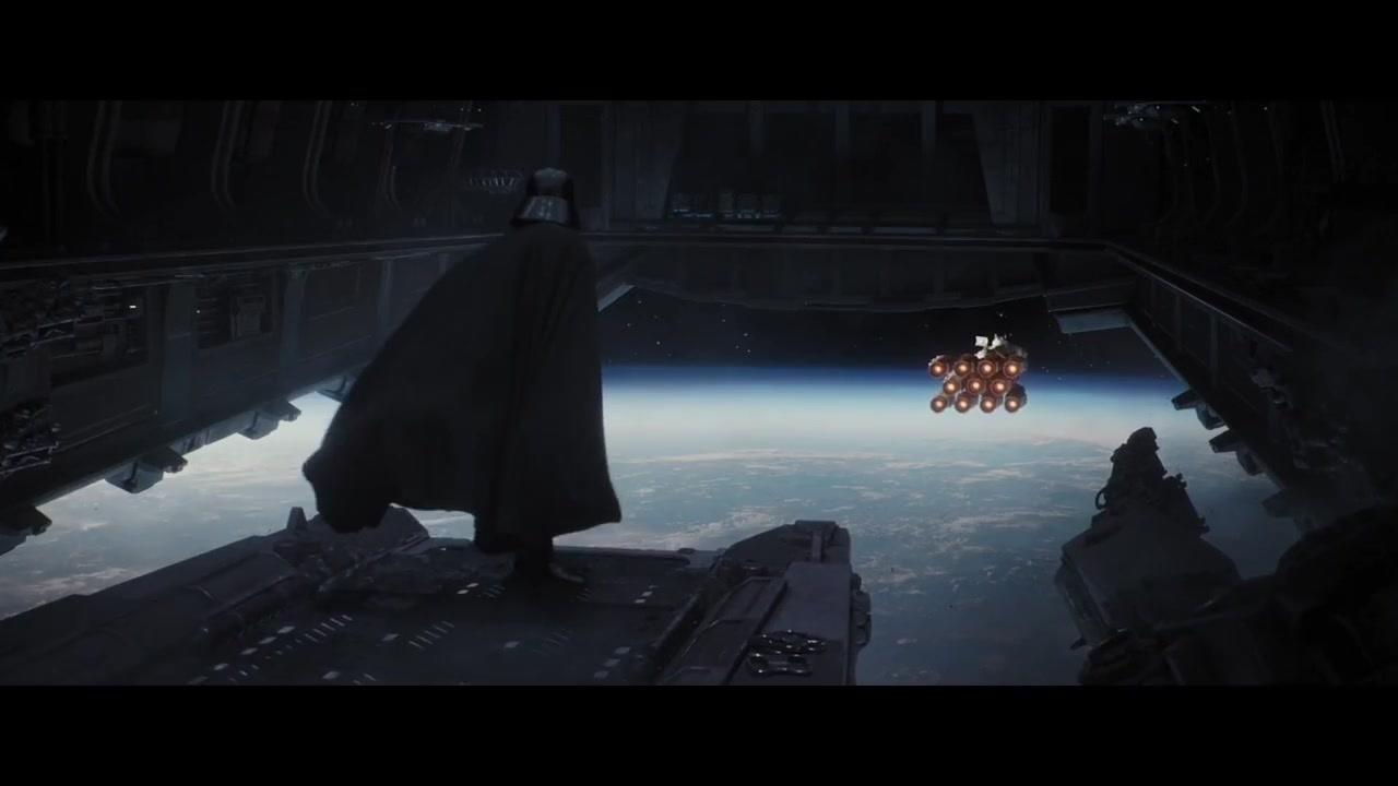 《星球大战外传:侠盗一号 》达斯维达出场,谁与争锋。