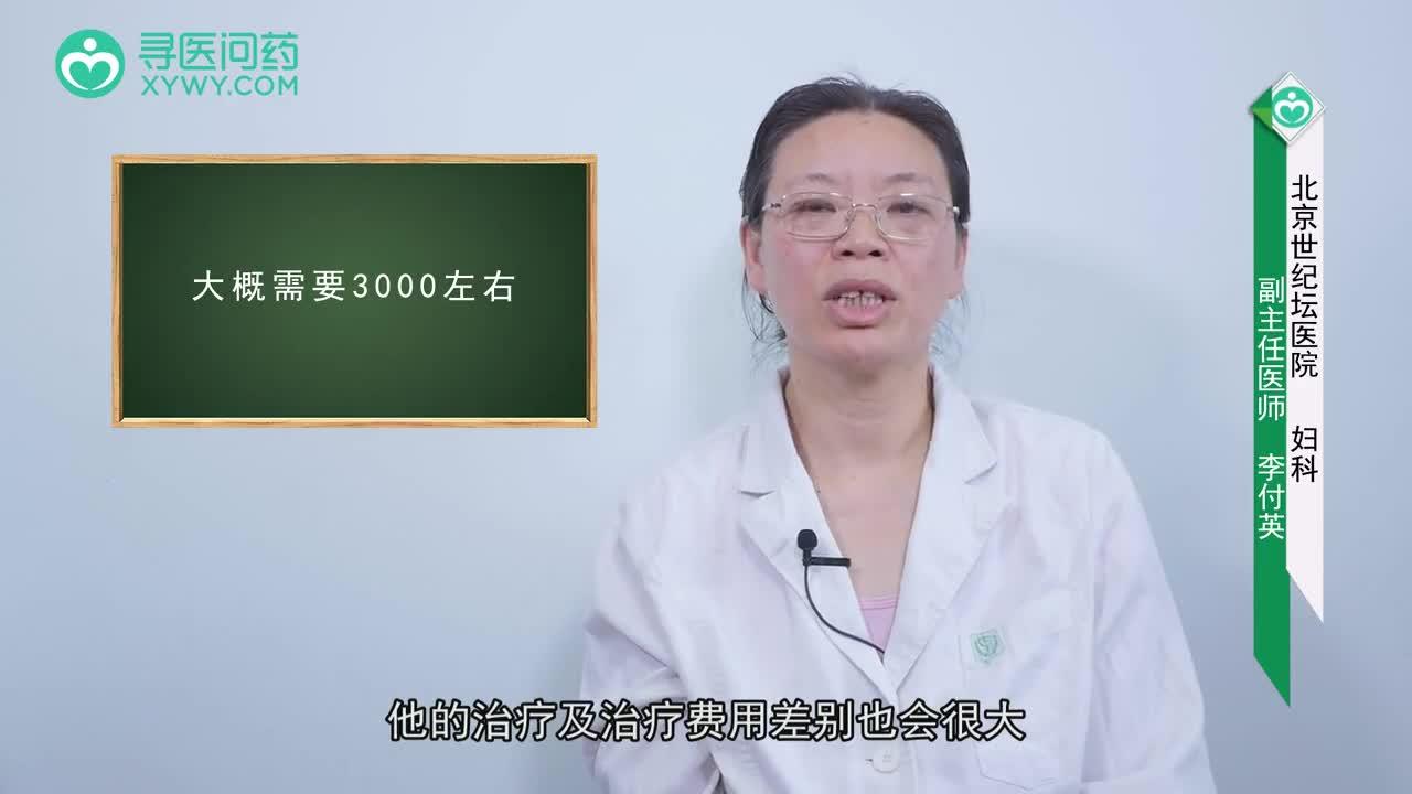 子宫内膜炎治疗费用