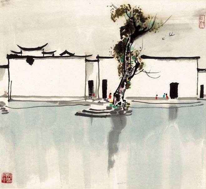 吴冠中:美协的绘画水平落后于非洲,像衙门中养一群不下蛋的鸡