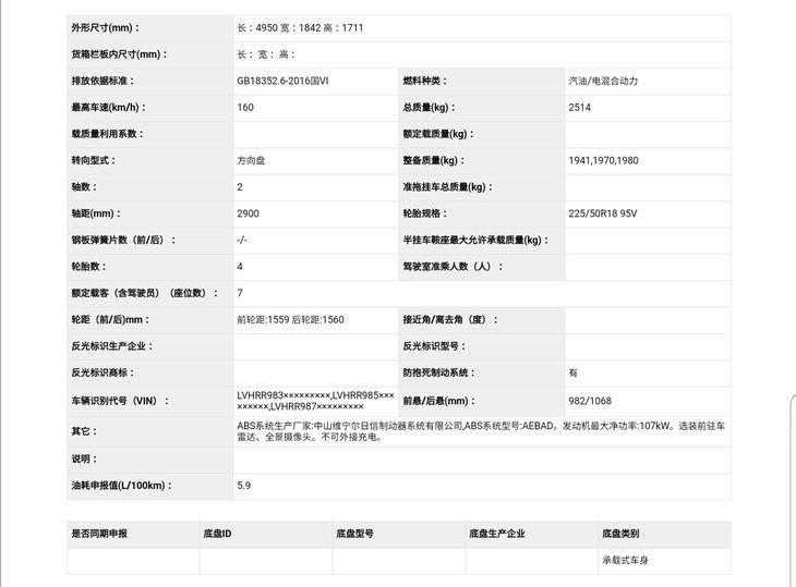 东风本田艾力绅锐·混动消息 将9月上市 综合油耗低至5.9L