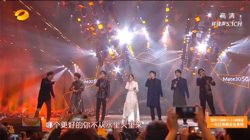 尚雯婕和声入人心男团仝卓、高天鹤、蔡程昱、鞠红川、代玮、张超在湖