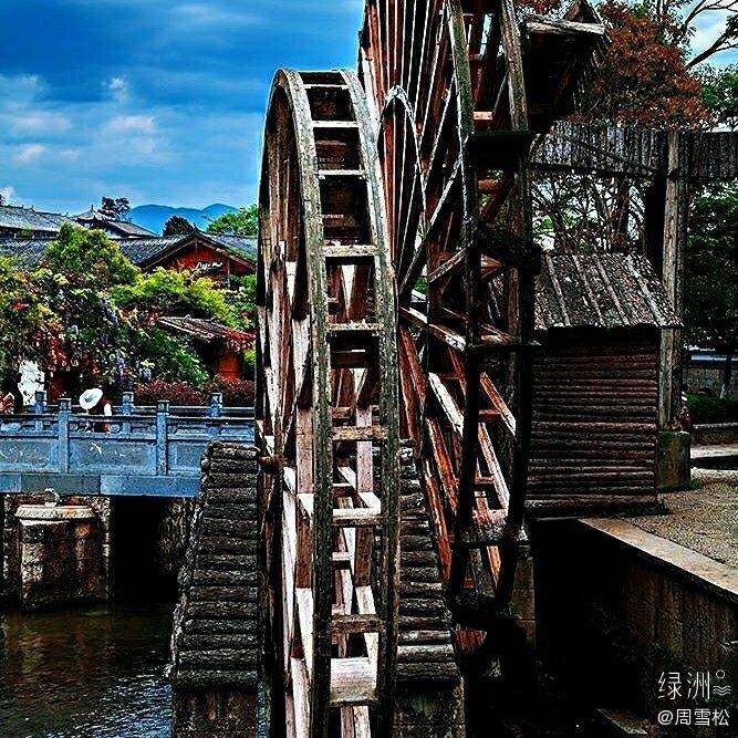 从2005年9 来到丽江古城酒吧街一呆就是15年之久大石桥 四方