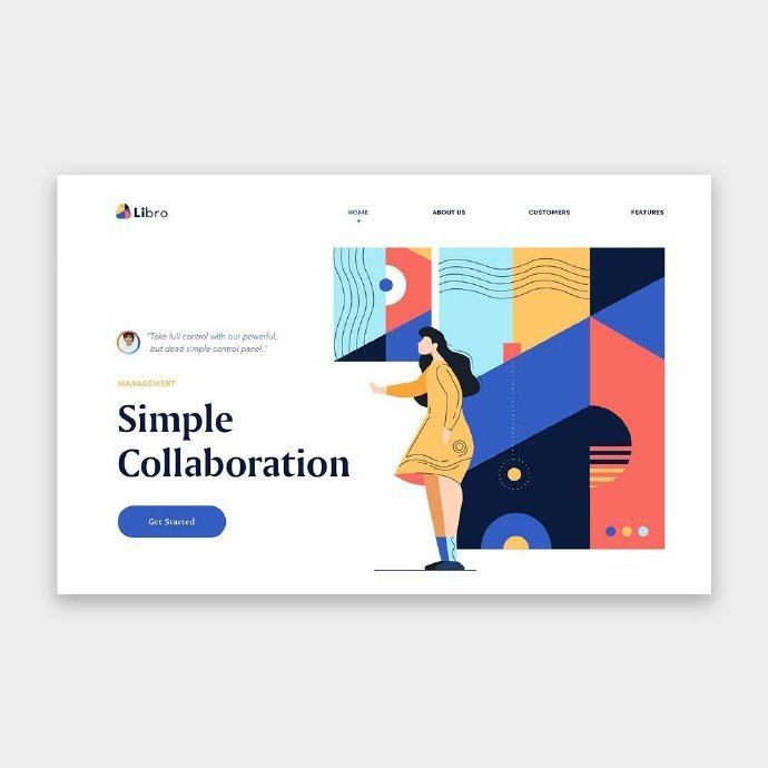 网页设计灵感