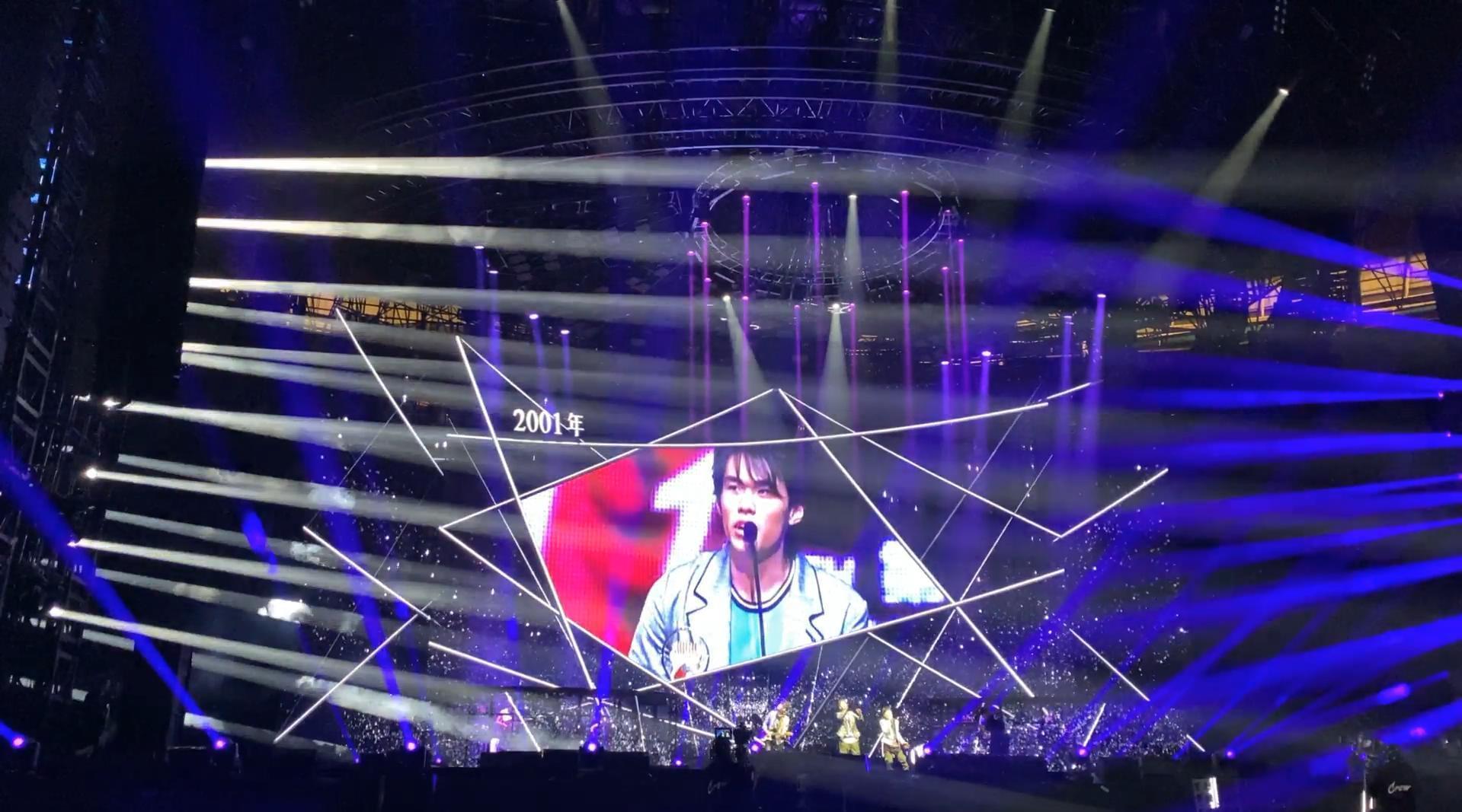 周杰伦「嘉年华」演唱会出道20周年VCR背景歌曲BGM
