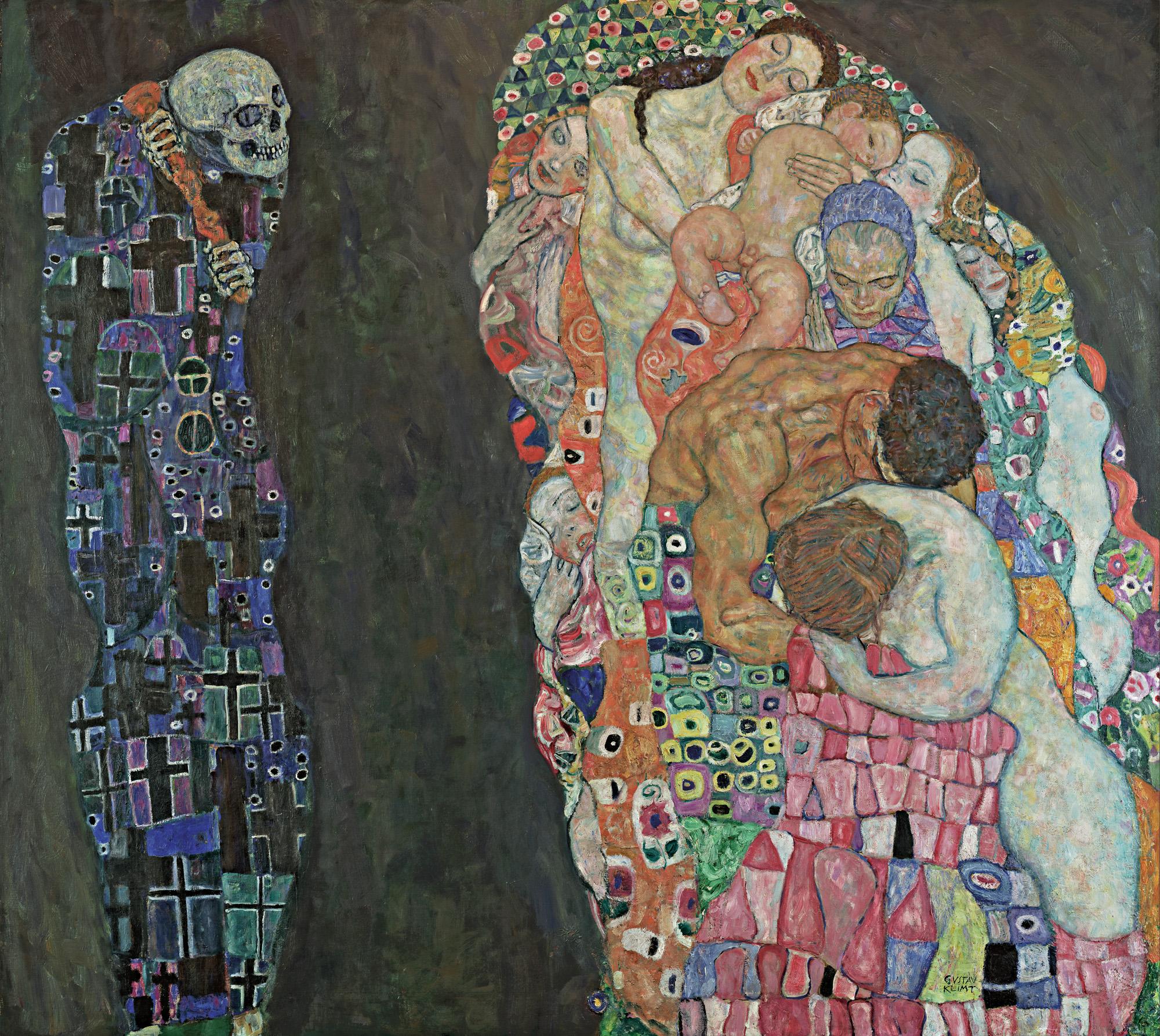 Gustav Klimt & Egon Schiele埃贡·席勒与导师古斯塔夫·克林姆特1