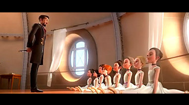 """芭蕾动画励志电影《了不起的菲丽西》片段(三)""""以后的你将无比"""