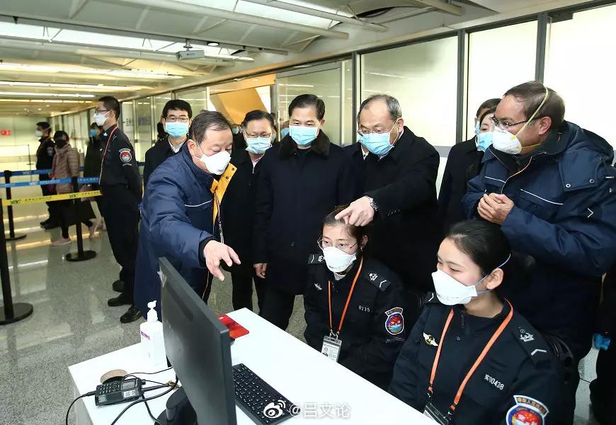 陈豪阮成发率队在昆实地检查疫情防控工作