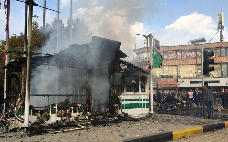 伊朗多地爆发抗议游行,德法表态关注局势进展