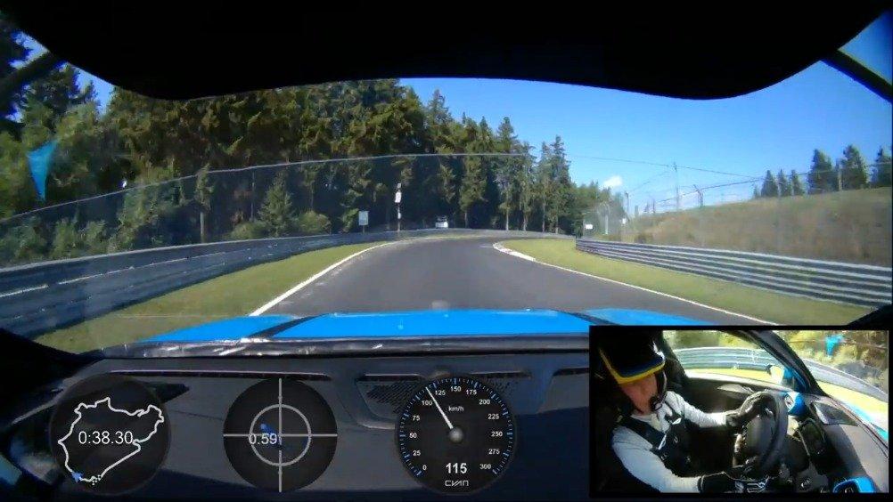 领克03 Cyan Concept创纪录的单圈车载