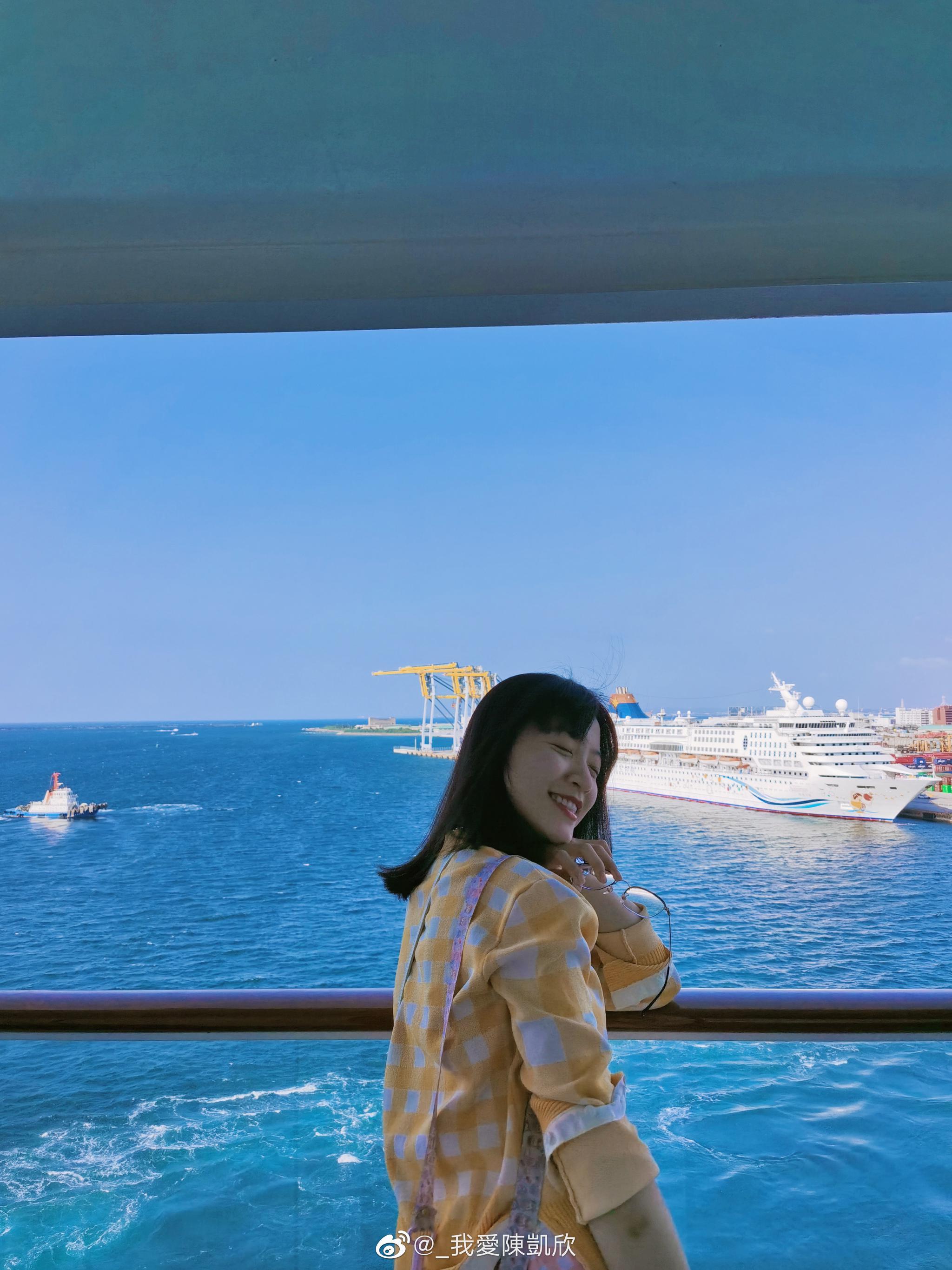 第三天邮轮靠岸在冲绳那霸 几年前邮轮停靠日本 没有签证的话是要强