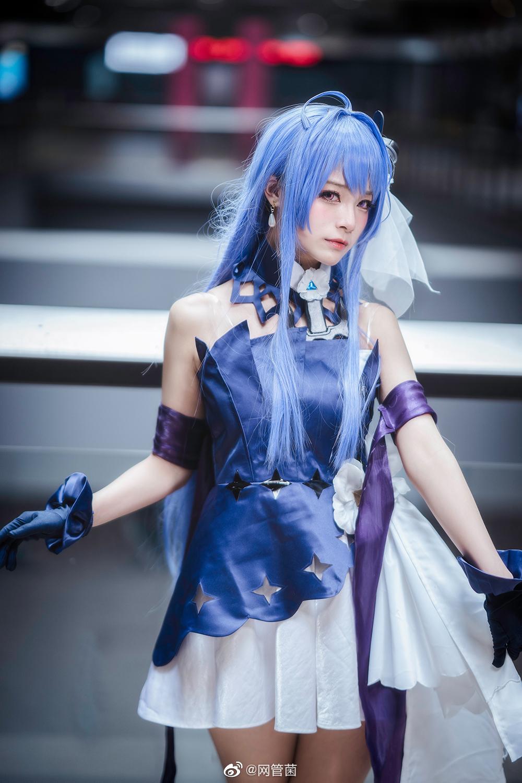 人工智障AI酱《萌死人绊爱cosplay》上海妹子@河野華太可爱了