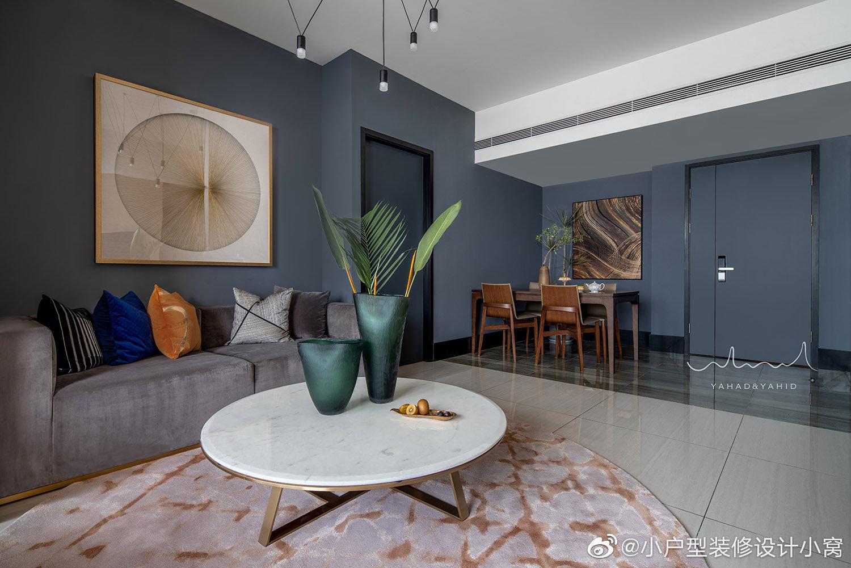 暮霭蓝岛,104㎡现代风格住宅丨黎秋辰设计