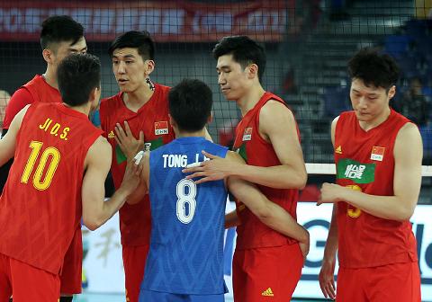 晋级决赛!中国男排3-1击败卡塔尔,将与伊朗队争夺奥运会门票