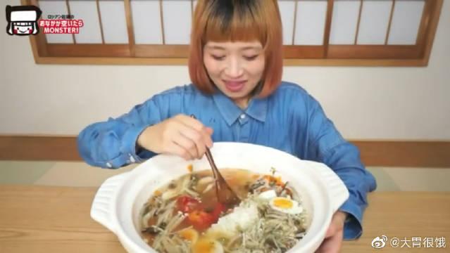 日本大胃王俄罗斯佐藤自制番茄料理