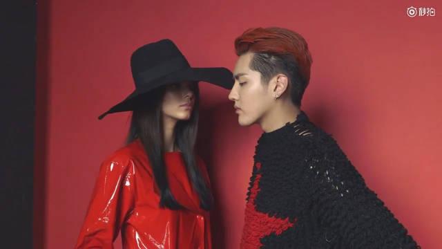 吴亦凡_x:肯豆 Vogue China 创刊十周年首位封面男明星。