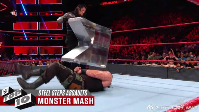 WWE十大铁台阶残暴瞬间,毒蛇兰迪RKO克里斯坦